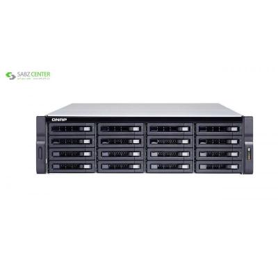 ذخیره ساز تحت شبکه کیونپ مدل TS-1673U-RP-16G - 0