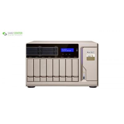 ذخیره ساز تحت شبکه کیونپ مدل TS-1277-1600-8G - 0