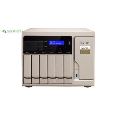ذخیره ساز تحت شبکه کیونپ مدل TS-877-1600-8G - 0