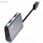 هاب سه پورت USB 3.0 باسئوس مدل CAHUB-A0G Baseus CAHUB-A0G USB 3.0 3 Ports Hub - 0